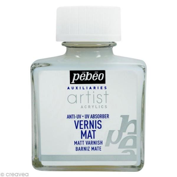 Vernis Pébéo Artist Acrylics Mat - 75 ml - Photo n°1