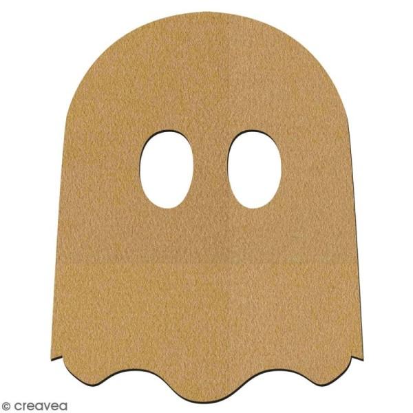 Fantôme cartoon en bois à décorer - 7 cm - Collection Halloween - Photo n°2