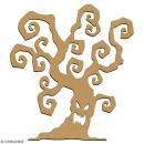 Arbre en bois à décorer - 15 cm - Collection Halloween - Photo n°2