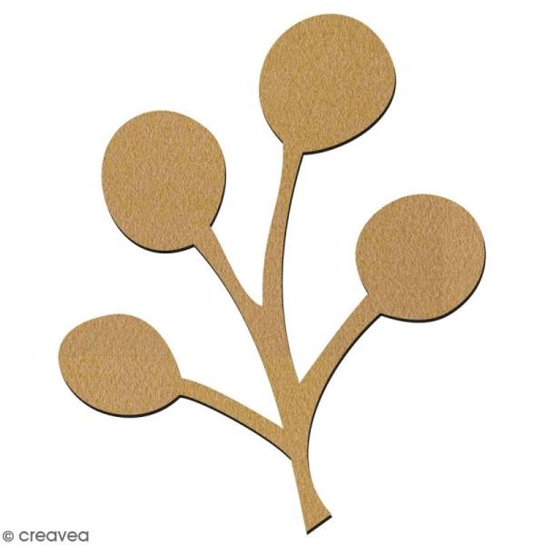 Micocoulier en bois à décorer - 7 cm - Collection Green - Photo n°2