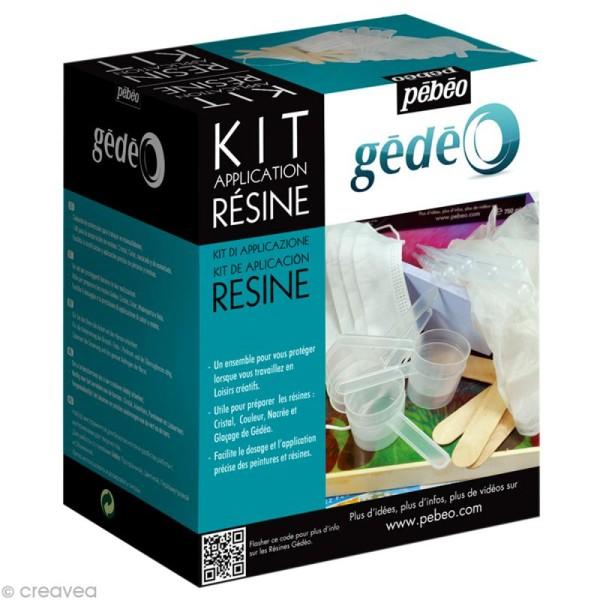 Kit application de résine Gédéo - 18 accessoires - Photo n°1