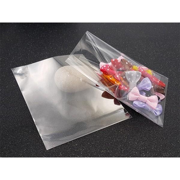 100 Sachets Transparents 10.2x8.2cm Emballage Bijoux - Photo n°1