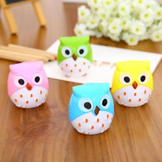 Taille-crayons hibou