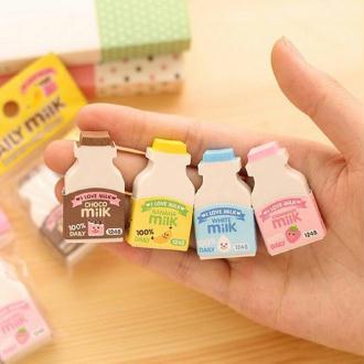 Gomme bouteille de lait
