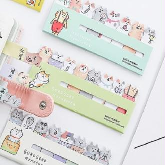 Sticky notes chat Goro Nyansuke