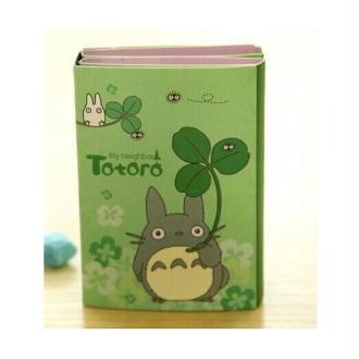 Mémo dépliant Totoro vert