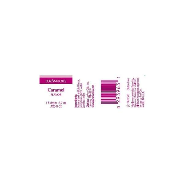 Arôme extra fort - Caramel - 3.7 ml - Photo n°2