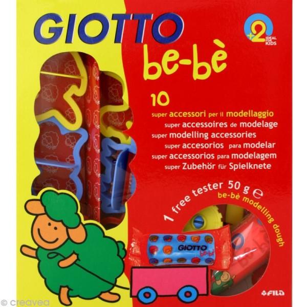 Accessoires de modelage GIOTTO Bébé - Photo n°1