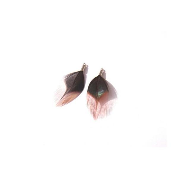Coq : Paire de Pendentifs 40 MM environ de hauteur - Photo n°1