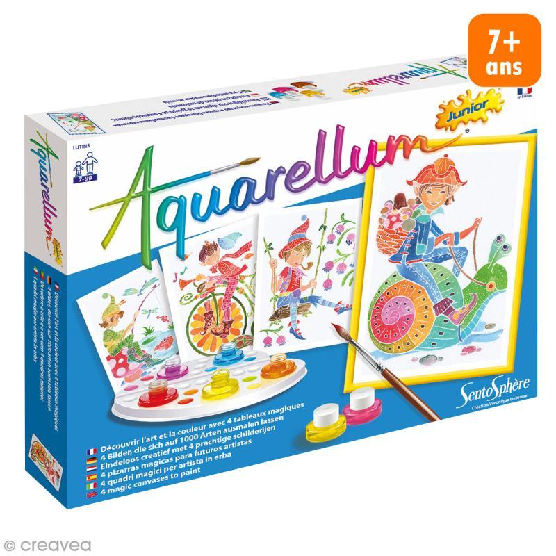 Jeu créatif Aquarellum Junior - Lutins - Photo n°1