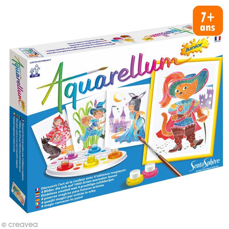 Jeu créatif Aquarellum Junior - Contes de Perrault - Photo n°1