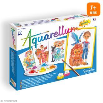Jeu créatif Aquarellum Junior - L'enfant et la bête