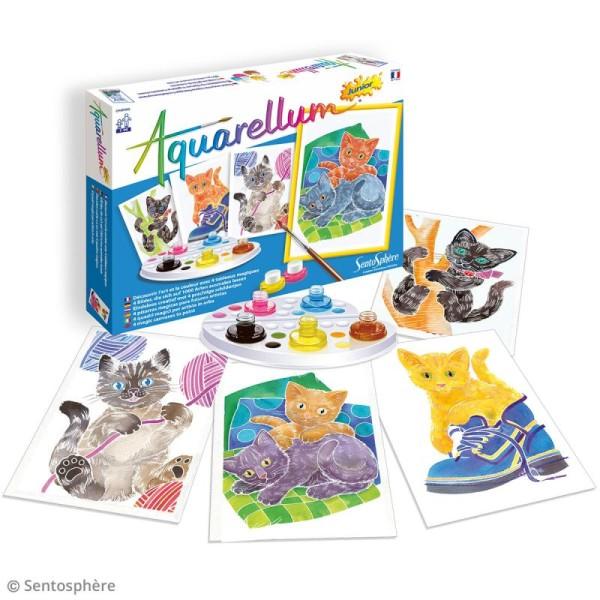 Jeu créatif Aquarellum Junior - Chatons - Photo n°2