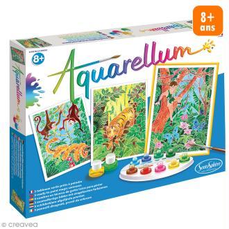 Jeu créatif Aquarellum - Livre de la jungle