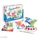 Jeu créatif Aquarellum - Licornes et pégases - Photo n°2