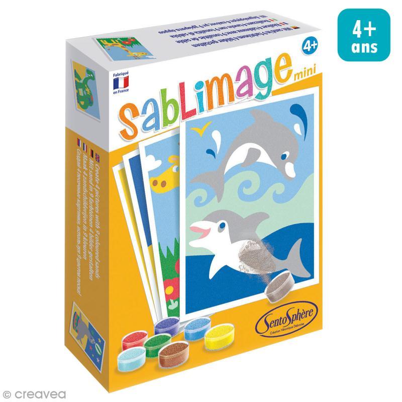 Kit Sablimage mini - Animaux exotiques - 4 tableaux - Photo n°1