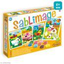 Kit Sablimage - Animaux de la ferme - 4 tableaux