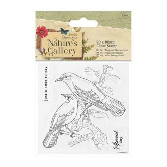 Tampon transparent clear stamp scrapbooking PAPERMANIA NATURE'S GALLERY