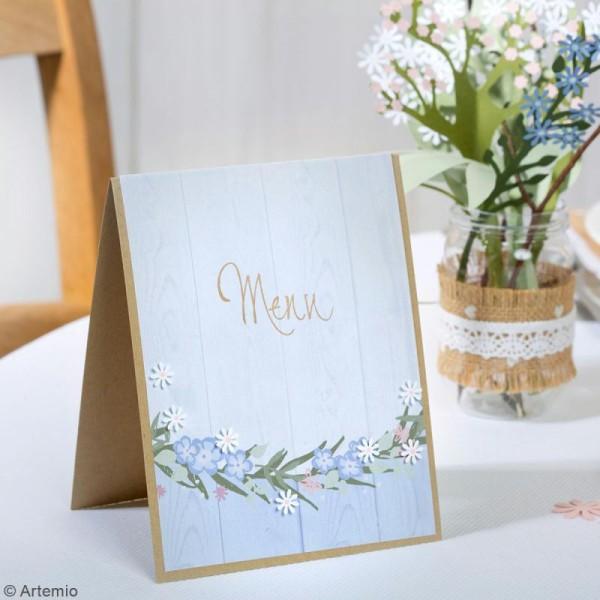 Papier Scrapbooking Artemio - Love story - 30,5 x 30,5 cm - 40 pcs - Photo n°4