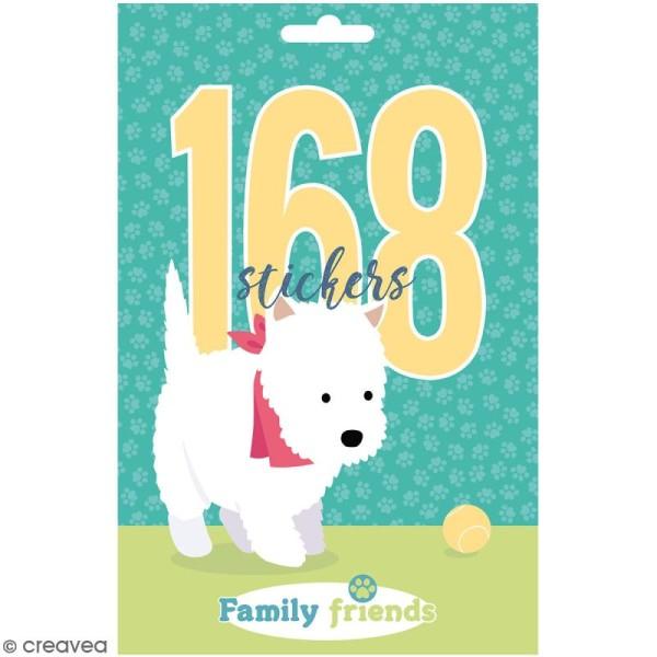 Carnet de stickers Family Friends - Chiens - 168 pcs - Photo n°1