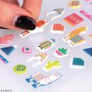Stickers Artemio Puffies - Alpaga Family - 30 pcs - Photo n°4
