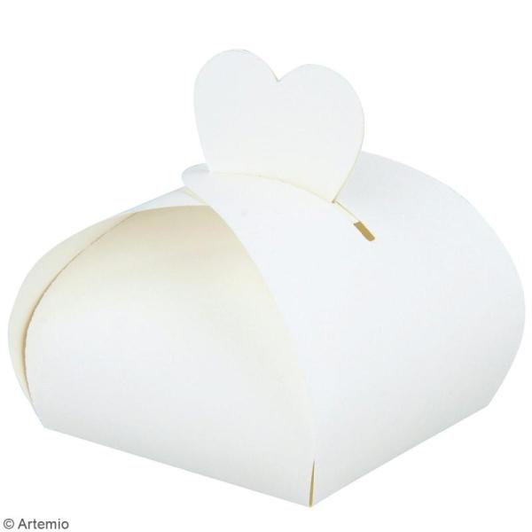 Die Artemio gabarit Boîte cadeau - base 6 x 6 cm - 1 matrice de découpe - Photo n°4