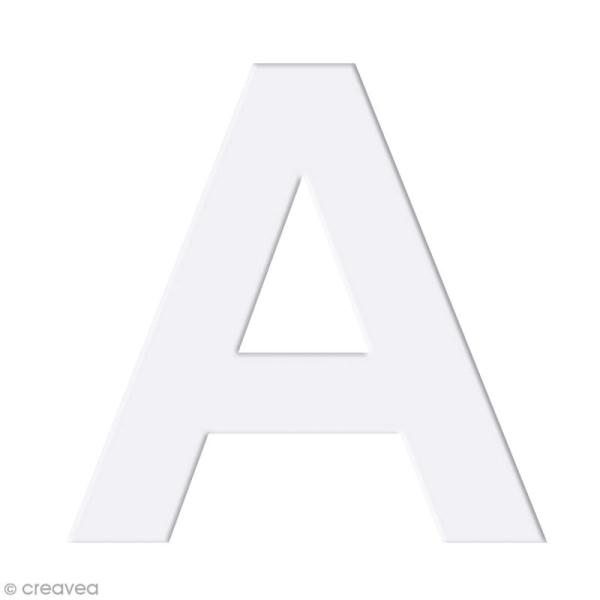 Alphabet en carton passe partout à décorer - 30 x 30 cm - Photo n°5