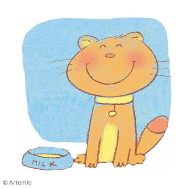 Sticker décoratif - Chat - 5 x 5 cm - 2 pcs - Photo n°2