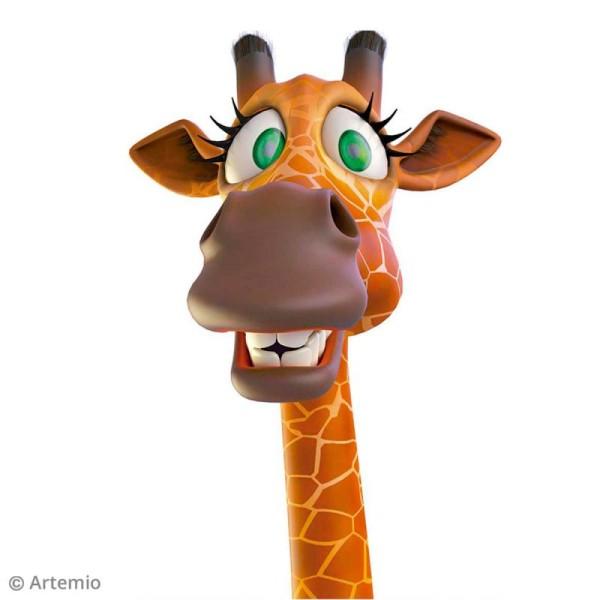 Sticker décoratif - Girafe - 10 x 20 cm - 1 pce - Photo n°2