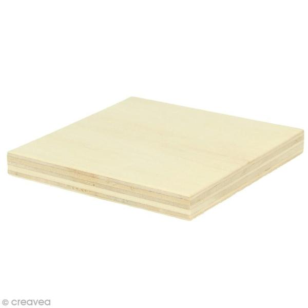 Planches de bois pour string art - 8 x 8 cm - 2 pcs - Photo n°1