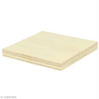 Planches de bois pour string art - 8 x 8 cm - 2 pcs