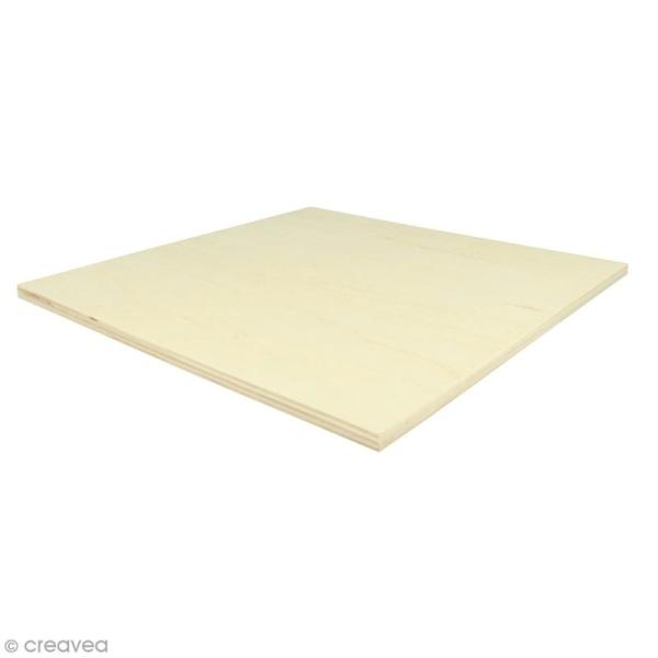 Planches de bois pour string art - 30 x 30 cm - 2 pcs - Photo n°1