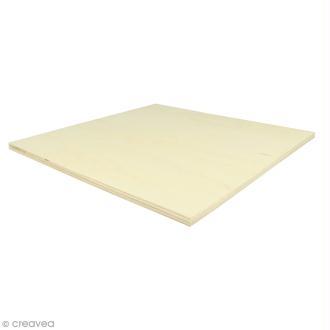 Planches de bois pour string art - 30 x 30 cm - 2 pcs