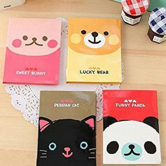 Post-it sticky notes animaux kawaii
