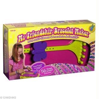 Métier à tisser - Coffret bracelets de l'amitié - 14 fils