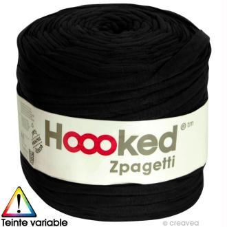 Zpagetti Hoooked DMC - Pelote Jersey Noir - 120 mètres