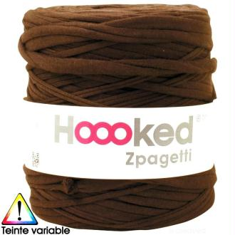Zpagetti Hoooked DMC - Pelote Jersey Camel - 120 mètres