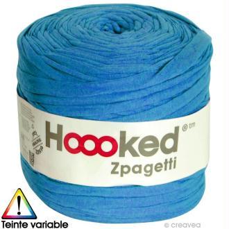 Zpagetti Hoooked DMC - Pelote Jersey Grand Bleu - 120 mètres
