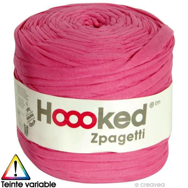 Zpagetti Hoooked DMC - Pelote Jersey Fuchsia - 120 mètres - Photo n°1