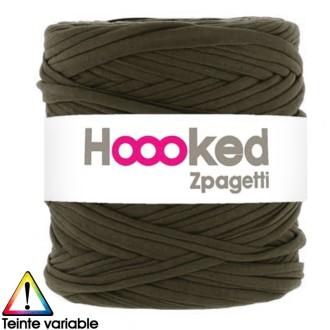 Zpagetti Hoooked DMC - Pelote Jersey Vert - 120 mètres