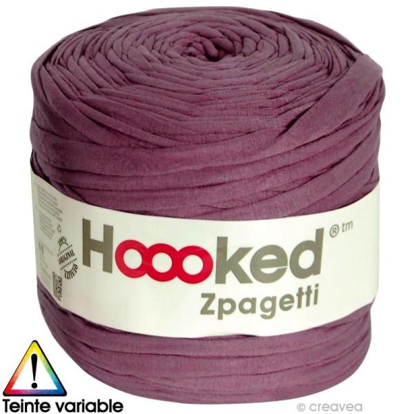 Zpagetti Hoooked DMC - Pelote Jersey Violet 2 - 120 mètres - Photo n°1