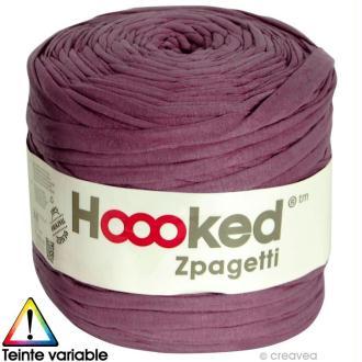 Zpagetti Hoooked DMC - Pelote Jersey Violet 2 - 120 mètres