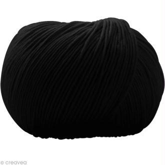 Fil DMC Natura Noir n°11 - 50 gr