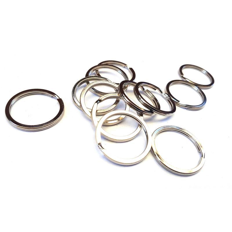Lot de 10 anneaux 30mm fermoirs porte cl s pendentifs - Couleur porte et encadrement ...