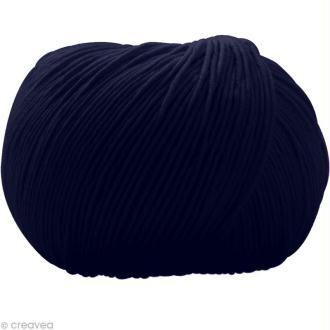 Fil DMC Natura Bleu saphir n°28 - 50 gr
