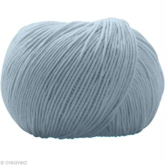 Fil DMC Natura Bleu azur n°56 - 50 gr