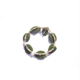 L'Eau Sacrée : Bracelet très fin Perles Culture, Aigue Marine Fine 17,5 CM