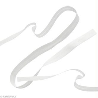 Biais uni à coudre - Blanc x 3 mètres