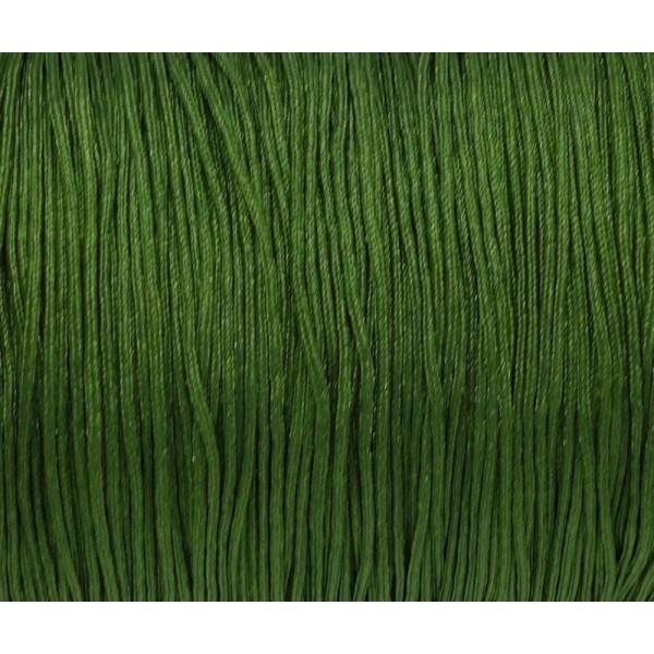 10m Fil De Jade 0,8mm Vert Olive - Fil Nylon Tressé - Jade String - Photo n°2