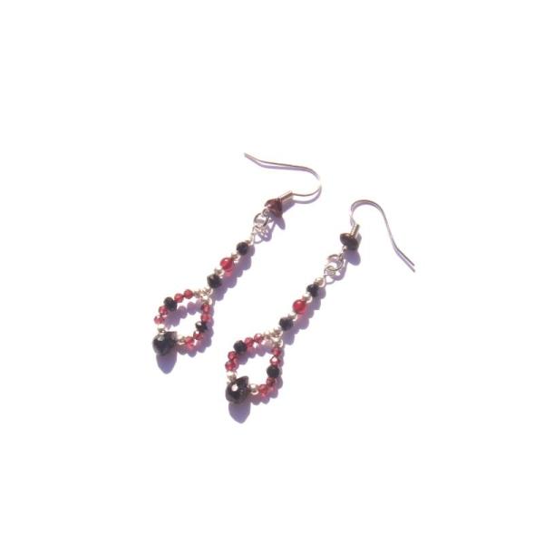 La Rosée des Fées : BO Spinelle et Grenat 5,7 CM de hauteur - Photo n°1